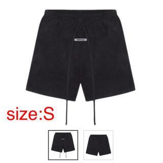 フィアオブゴッド(FEAR OF GOD)のS Fear Of God Essentials Fleece Shorts 黒(ショートパンツ)