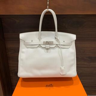Hermes - 極美品 ¥160万品 エルメス バーキン35 ヴォースイフトSV金具 ホワイト