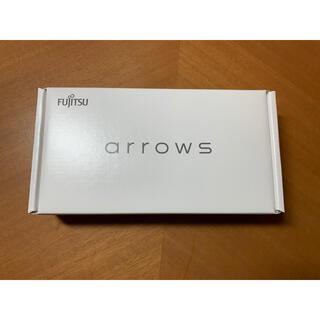 フジツウ(富士通)のarrows RX ホワイト 32GB(スマートフォン本体)
