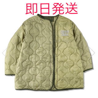 Supreme - WIND AND SEA QUILTING LINER JACKET OLIVE