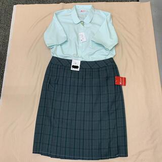 学生服 制服 半袖ブラウス&スカートぽっちゃり未使用品(衣装一式)