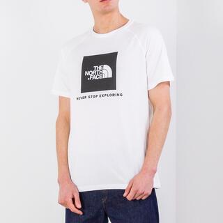 THE NORTH FACE - 海外限定 ◆ノースフェイス boxロゴ ラグランTシャツ 白T ホワイト ◆