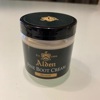 Alden - 【一回のみ使用】LeatherSoul購入オールデン純正ファイン ブーツクリーム