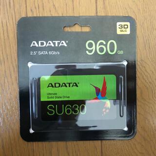 ADATA SSD 960GB Ultimate SU630 新品未開封品