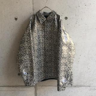 エフィレボル(.efiLevol)のEFILEVOL Python Pattern JKT パイソンジャケット(その他)