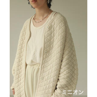 TODAYFUL - Todayful Quilting Knit Coat