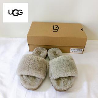 UGG - 一回使用 定価13200円品 UGG WCOZETTE スライドサンダル 24㎝