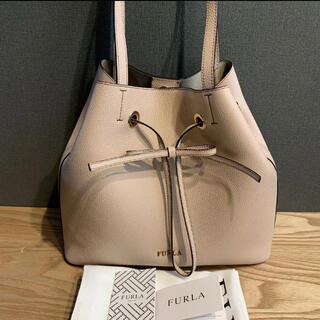 Furla - フルラ 新作 美品 2way 巾着バッグ ショルダーバック 新色