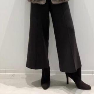 アパルトモンドゥーズィエムクラス(L'Appartement DEUXIEME CLASSE)のMANOA様専用アパルトモン  Knit Cropped パンツ(クロップドパンツ)