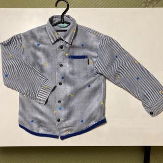 ハッカキッズ(hakka kids)のhakka kids ブラウス 120cm ハッカキッズ シャツ(Tシャツ/カットソー)