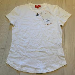 ヴィヴィアンウエストウッド(Vivienne Westwood)のVivienne Westwood red label Tシャツ L 白(Tシャツ(半袖/袖なし))