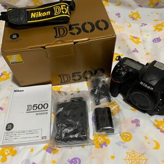 Nikon - Nikon D500 ボディ☆ 早い者勝ち