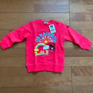 ダブルビー(DOUBLE.B)の✨新品✨mikihouse トレーナー 100cm(Tシャツ/カットソー)