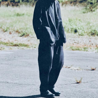 COMOLI - 【新品】comoli コモリ 20aw ウールシルク ネイビー セットアップ