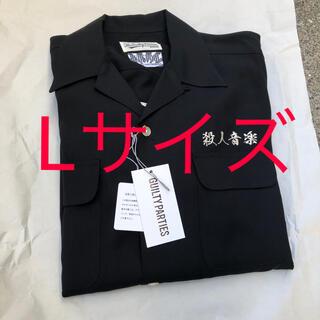WACKO MARIA - WACKO MARIA  舐達麻 50'S SHIRT BLACK L シャツ