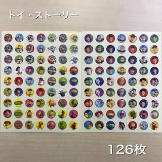 トイ・ストーリー - トイ・ストーリー ごほうびシール ご褒美シール 計126枚