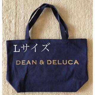 DEAN & DELUCA - dean&deluca トートバッグ ネイビー Lサイズ