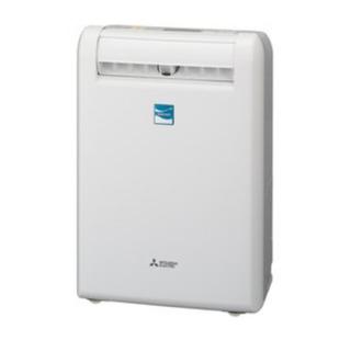 ミツビシデンキ(三菱電機)の★新品★三菱 除湿機SARARI部屋干し3Dムーブアイ搭載MJ-M120NX-W(加湿器/除湿機)