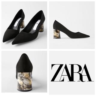 ZARA - ZARA ヒールパンプス