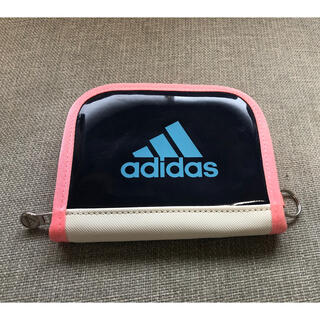 アディダス(adidas)のほぼ新品同様 アディダス エナメル 財布 ウォレット キッズ(財布)