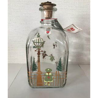 ロイヤルコペンハーゲン(ROYAL COPENHAGEN)の【新品・未使用】ホルムガード クリスマスボトル  1988年(置物)