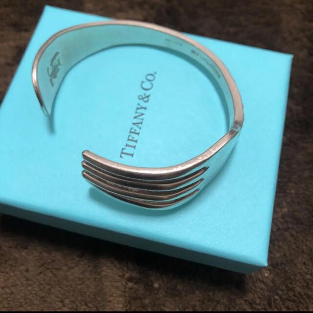 Tiffany & Co.(ティファニー)のTiffanyビンテージフォークバングル レディースのアクセサリー(ブレスレット/バングル)の商品写真