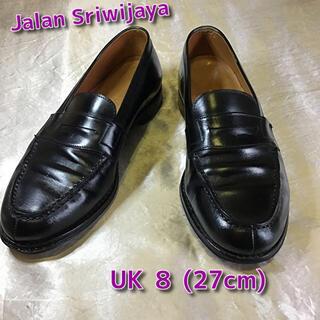 ジャラン スリウァヤ 18045 ローファー UK 8 (27cm) ブラック