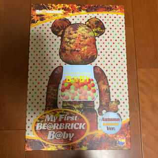 MEDICOM TOY - BE@RBRICK B@BY AUTUMN LEAVES 100% & 400%