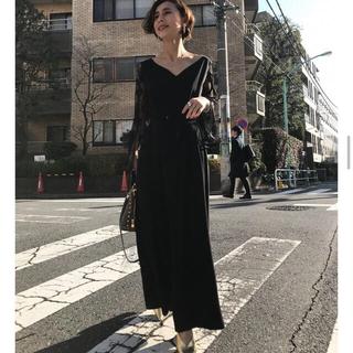Ameri VINTAGE - ameri vintage LACE SLEEVE REFINED DRESS