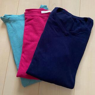 THE SUIT COMPANY - ウォッシャブル 洗える UVカット チュニック 3枚セット
