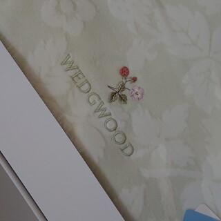 ウェッジウッド(WEDGWOOD)のwhitebox007様専用WEDGWOOD 綿毛布 未使用新品 140*200(毛布)