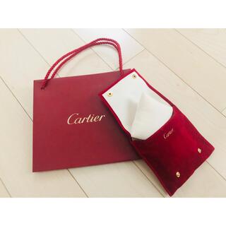 カルティエ(Cartier)の《新品•未使用》カルティエ ウォッチトラベルケース ショッパー付き!(腕時計)