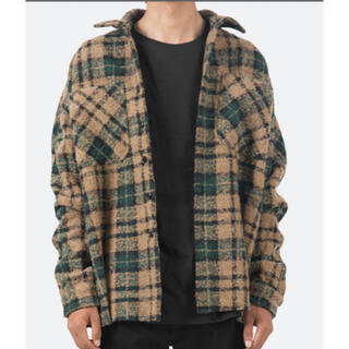 FEAR OF GOD - mnml  Loose Woven Flannel Shirt L