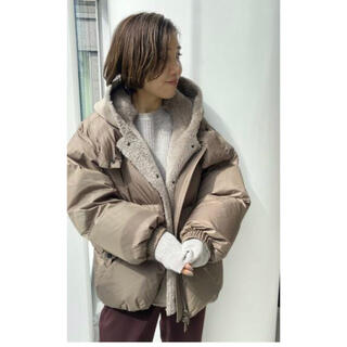 L'Appartement DEUXIEME CLASSE - アパルトモン 【PELLESSIMO/ペレッシモ 】2way ダウンジャケット