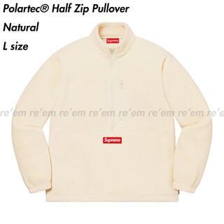 Supreme - Supreme Polartec Half Zip Pullover L