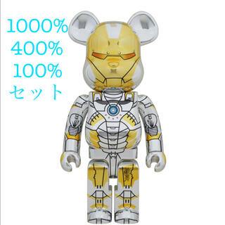 MEDICOM TOY - SORAYAMA IRON MAN 100% 400% 1000% セット