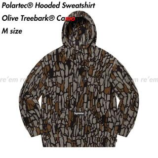 Supreme - Polartec Hooded Sweatshirt Treebark M