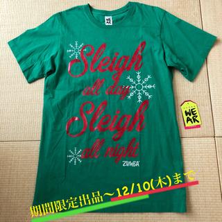 Zumba - ズンバ クリスマスTシャツ(新品/タグ付き)
