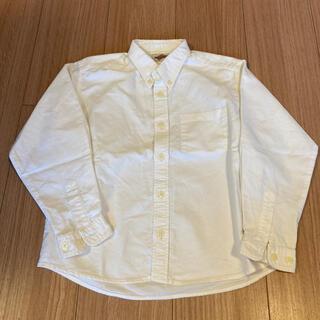 白ボタンダウン長袖シャツ120(ドレス/フォーマル)