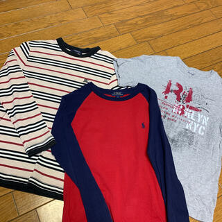 BURBERRY - ロンT2枚 Tシャツ1枚