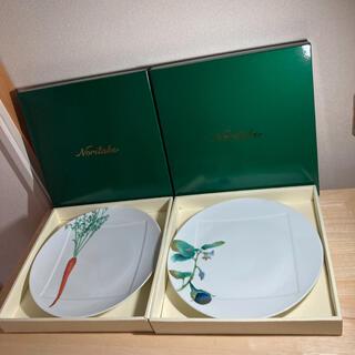 ノリタケ(Noritake)のノリタケ 27センチプレート2枚(食器)