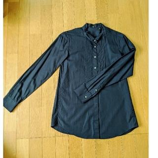 ユニクロ(UNIQLO)の【専用品】2011年+Jの紺色シャツ(シャツ/ブラウス(長袖/七分))