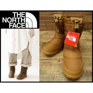 ザノースフェイス(THE NORTH FACE)の新品 ノースフェイス NFW51873 ヌプシブーティー 22cm チェスナット(ブーティ)