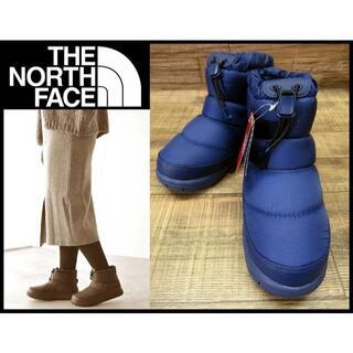 ザノースフェイス(THE NORTH FACE)の新品 ノースフェイス NFW51874 ヌプシ ブーティー 23cm ブルー(ブーティ)