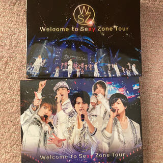 Welcome to Sexy Zone Tour DVD 初回限定盤