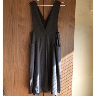 IENA - フレアジャンパースカート
