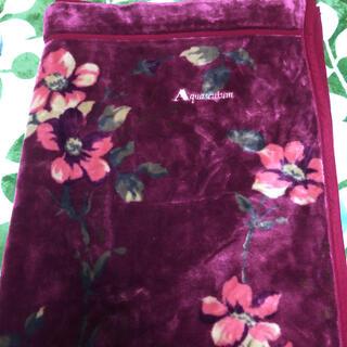 アクアスキュータム(AQUA SCUTUM)のAquascuturm アクアスキュータム 毛布(毛布)