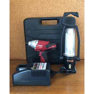 リョービ(RYOBI)のRYOBI充電式インパクトドライバー BID-1226 ジャンク品(工具)