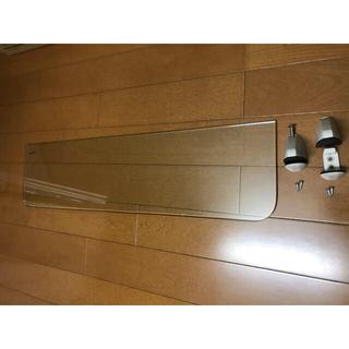 インテリア 透明ガラス棚板(棚/ラック/タンス)