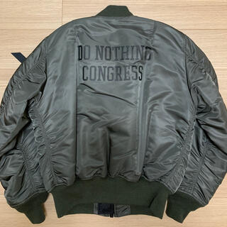 FRAGMENT - Do Nothing Congress ALPHA MA-1 sizeM